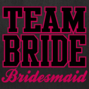 TEAM BRIDE: Bridesmaid Bags & backpacks - Tote Bag
