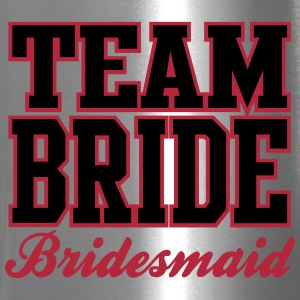 TEAM BRIDE: Bridesmaid Bottles & Mugs - Travel Mug