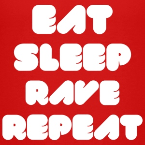 EAT SLEEP RAVE REPEAT Kids' Shirts - Kids' Premium T-Shirt