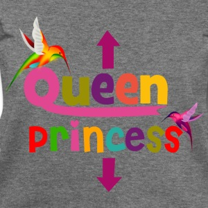 Queen and Princess Maternity Long Sleeve Shirts - Women's Wideneck Sweatshirt