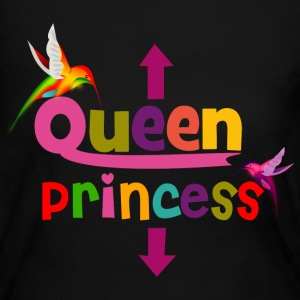 Queen and Princess Maternity Long Sleeve Shirts - Women's Long Sleeve Jersey T-Shirt