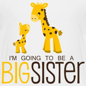 I am going to be a Big Sister Kids' Shirts - Kids' Premium T-Shirt