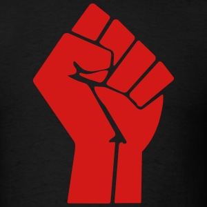 Raised Fist T-Shirts - Men's T-Shirt