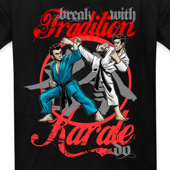 Karate-Do Break With Tradition