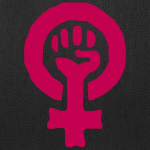 Feminism Power Symbol Bags & backpacks - Tote Bag