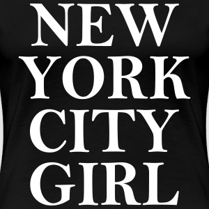 New York City Girl Women's T-Shirts - Women's Premium T-Shirt