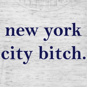 New York City Bitch Tanks - Women's Flowy Tank Top by Bella