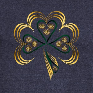 One Big Bright Shamrock - Women's Wideneck Sweatshirt