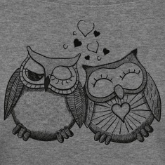owls in love  Long Sleeve Shirts