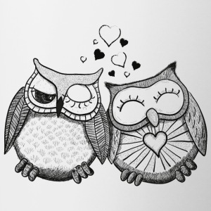 owls in love  Bottles & Mugs - Coffee/Tea Mug