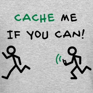 GeoCache me if you can Long Sleeve Shirts - Crewneck Sweatshirt