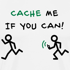 GeoCache me if you can T-Shirts - Men's Premium T-Shirt