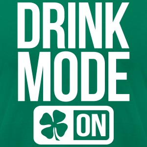 GAME MODE ON IRISH T-Shirts - Men's T-Shirt by American Apparel