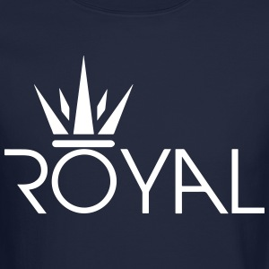 Royal Crown Secondary Svg Long Sleeve Shirts - Crewneck Sweatshirt
