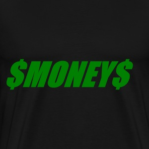 Money.png T-Shirts - Men's Premium T-Shirt