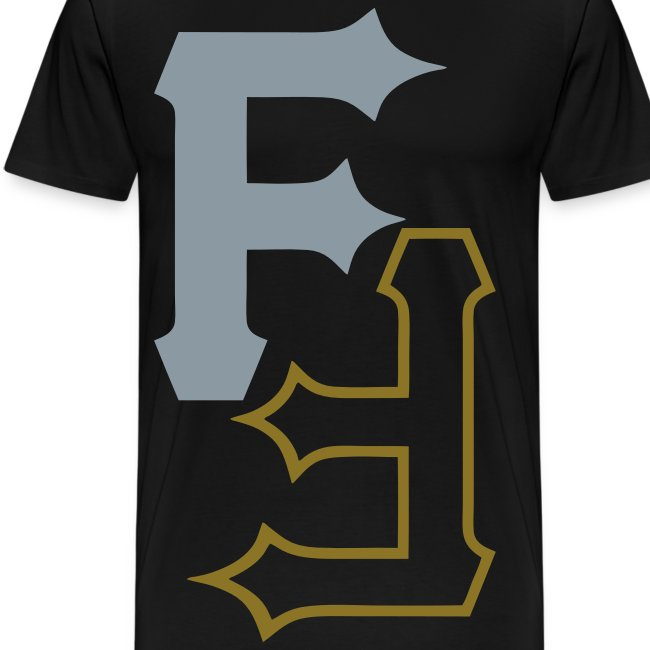 F & F [metallic silver & gold]