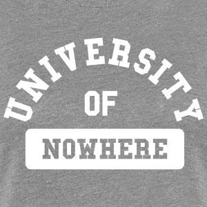 university of nowhere Women's T-Shirts - Women's Premium T-Shirt