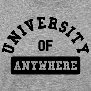 university of aywhere T-Shirts - Men's Premium T-Shirt