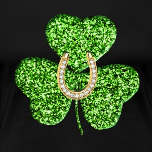 Shamrock And Horseshoe Shirt - Women's Premium T-Shirt