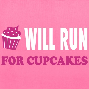 Will Run For Cupcakes - Workout Inspiration Bags & backpacks - Tote Bag
