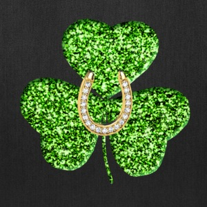 Shamrock And Horseshoe Tote Bag  - Tote Bag
