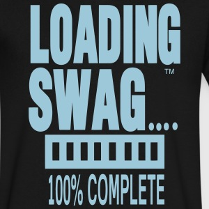 LOADING SWAG 100% COMPLETE T-Shirts - Men's V-Neck T-Shirt by Canvas