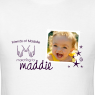 Design ~ March for Maddie Shirt (evergreen)