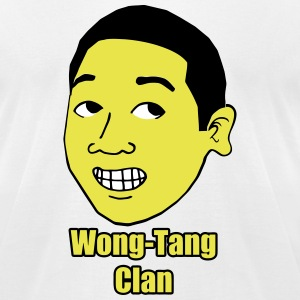 Fuzzy Haired #PeterWong on American Apparel Shirt - Men's T-Shirt by American Apparel
