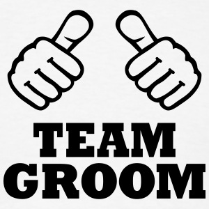 Team Groom T-Shirts - Men's T-Shirt