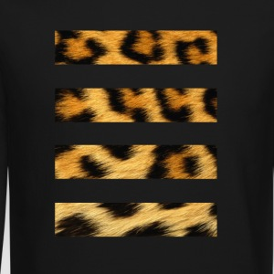 4 Lined Cheetah - Crewneck Sweatshirt