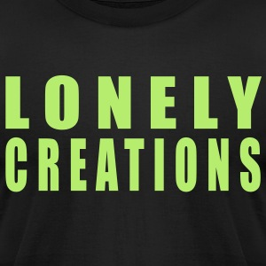 Lonely Creations - Men's T-Shirt by American Apparel