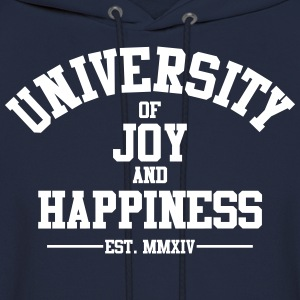 University of Joy and Happiness - Men's Hoodie