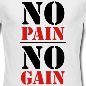 No Pain, no Gain Long Sleeve Shirts - Men's Long Sleeve T-Shirt by Next Level