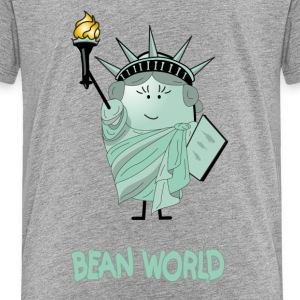 Bean World - Liberty Bean Kids' Shirts - Kids' Premium T-Shirt