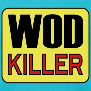 WOD Killer - Workout & Weight Lifting Inspiration T-Shirts - Men's T-Shirt by American Apparel