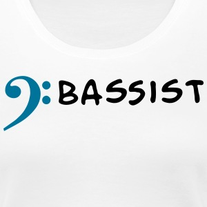 I play Bass - I am Bassist Women's T-Shirts - Women's Premium T-Shirt