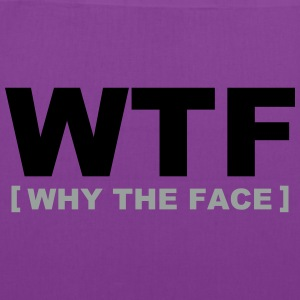 WTF - why the face Bags & backpacks - Tote Bag