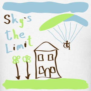 Sky`s the Limit - Men's T-Shirt