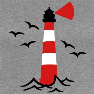 Lighthouse Women's T-Shirts - Women's Premium T-Shirt