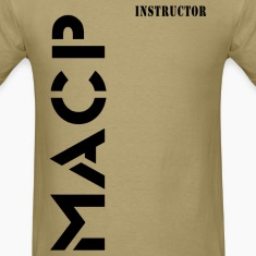 Army Combatives Knee Instructor Back T-Shirts