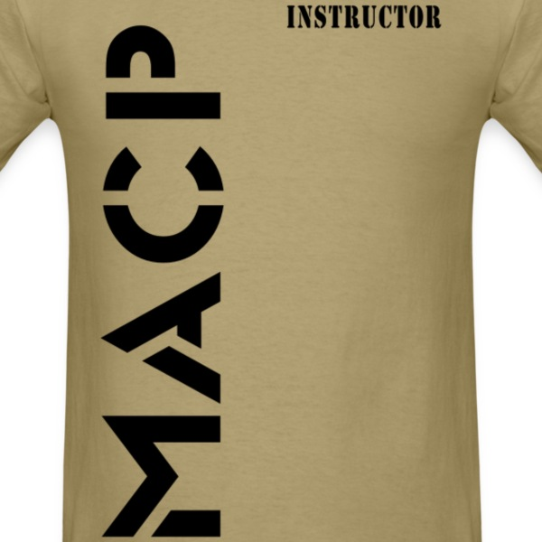 Army Combatives Knee Instructor Back T-Shirts - Men's T-Shirt