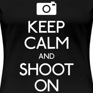 Keep Calm an Shoot on Women's T-Shirts - Women's Premium T-Shirt