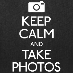 Keep Calm and take photos Bags & backpacks - Tote Bag
