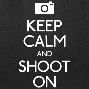 Keep Calm an Shoot on Bags & backpacks - Tote Bag