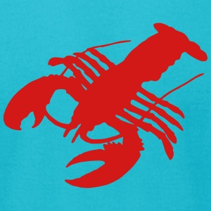lobster Crab crawfish crayfish crustacean delicacy T-Shirts - Men's T-Shirt by American Apparel