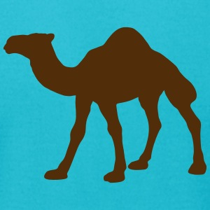 dromedary camels desert animals african zoological T-Shirts - Men's T-Shirt by American Apparel