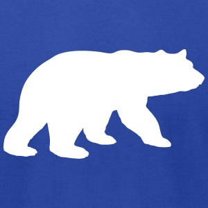 teddy polar panda koala bear claw paw grizzly zoo T-Shirts - Men's T-Shirt by American Apparel