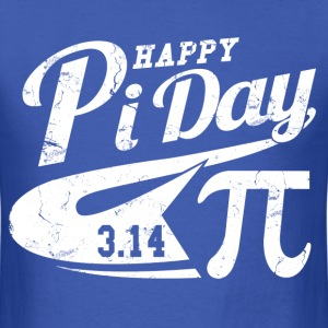 happy_pi_day T-Shirts - Men's T-Shirt