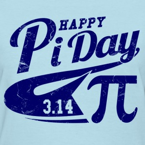 happy_pi_day Women's T-Shirts - Women's T-Shirt