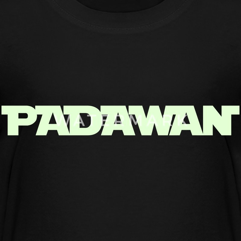 Padawan (glowing in the dark) - Kids' Premium T-Shirt